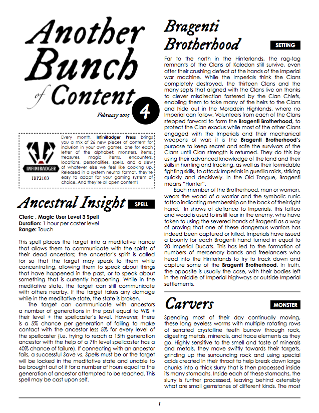 IBP 2103 - Another Bunch of Content Issue 4 Page 1