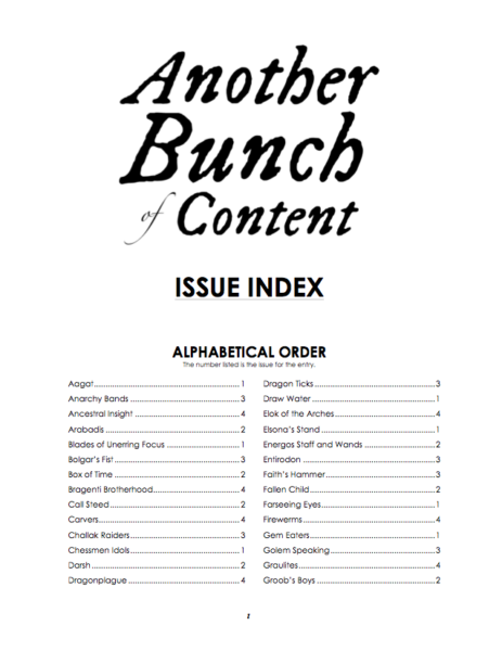 IBP 2199 - Another Bunch of Content Index